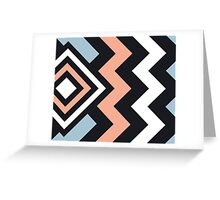 Extramo Modern Stripe Pattern 03 Greeting Card