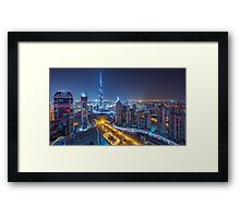 Spilled Rainbow Framed Print