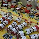 Purchase by Colour: Saturday Market Stall, Uzes, France by linfranca