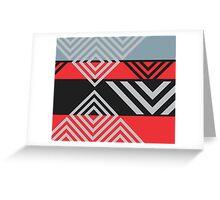 Fastina Modern Stripe Pattern 03 Greeting Card