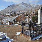 Virginia City Cemetery by Bob Moore