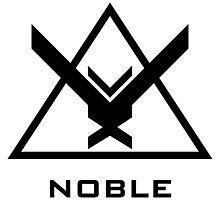 Halo: Reach - NOBLE Insignia (Black) Photographic Print
