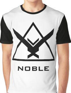 Halo: Reach - NOBLE Insignia (Black) Graphic T-Shirt