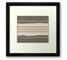 Idsoup Modern Stripe Pattern 01 Framed Print