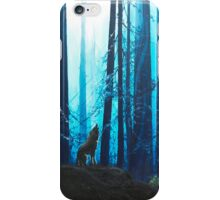 Howling woods iPhone Case/Skin