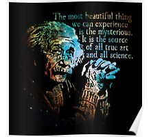 The Source of All True Art - Albert Einstein Poster