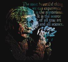 The Source of All True Art - Albert Einstein Kids Clothes