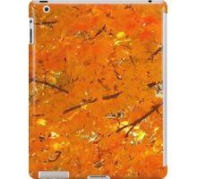 Orange Autumn Leaves iPad Case/Skin