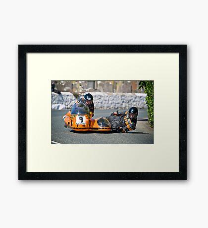 Doug Wright - Martin Hull Framed Print