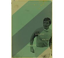 Man City - Alan Oakes Photographic Print