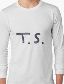 Taylor Swift Signature: T.S. Long Sleeve T-Shirt