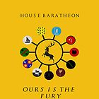 House Baratheon & vassal houses by Sadema