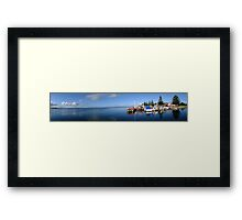 Panorama - Port Albert Harbour, Victoria Framed Print