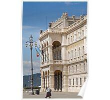Piazza unita d'italia, Trieste Poster