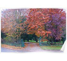 Gateway to Autumn Poster
