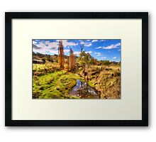Flow - Oberon NSW - The HDR Experience Framed Print
