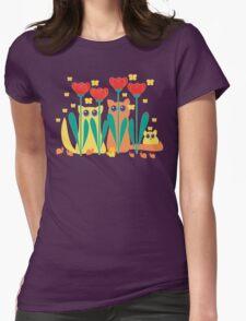 Rabble Of Butterflies In Tulip Garden T-Shirt