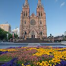 St Mary's Cathedral Sydney by Travis Easton