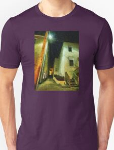 Night Alleyway Unisex T-Shirt