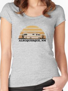 Breaking Bad RV Tshirt Women's Fitted Scoop T-Shirt