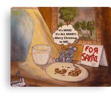 A Mouse's Excellent Christmas Canvas Print