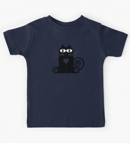 LOVE CAT Kids Tee