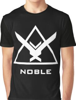 Halo: Reach - NOBLE Insignia (White) Graphic T-Shirt