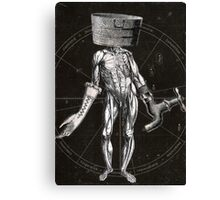 Anatomy of Self (Card 5) Canvas Print