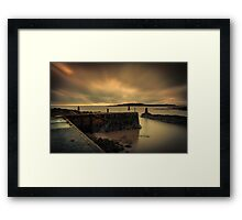 When Darkness Falls Framed Print