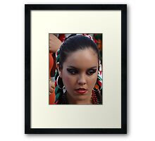 Mexican Beauty - Belleza Mexicana Framed Print