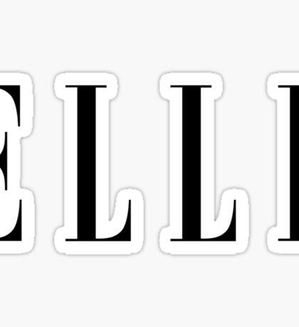 ELLE Fashion Sticker