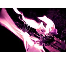 Burning at the stake  Photographic Print