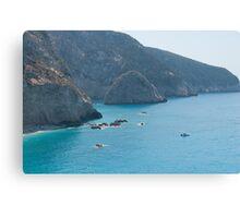 Lefkada Island Canvas Print