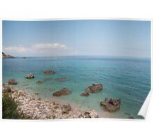 Lefkada Island Poster