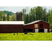 Kentucky Barn Quilt - 1 Photographic Print