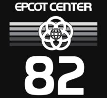 Epcot 82 Colorless With White Letters by AngrySaint
