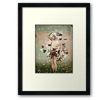 Little Snowflake Framed Print