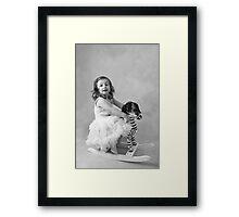 Sweet innocence Framed Print