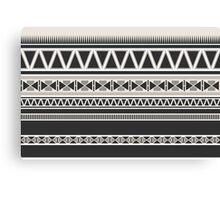 Ethnic Tribal Geometric Pattern Canvas Print