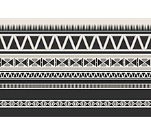 Ethnic Tribal Geometric Pattern Photographic Print