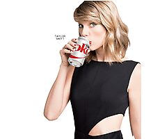 Taylor Swift for Diet Coke Photographic Print