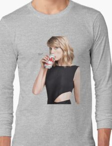 Taylor Swift for Diet Coke Long Sleeve T-Shirt