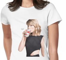 Taylor Swift for Diet Coke Womens Fitted T-Shirt