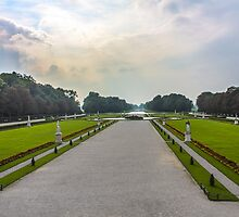 View from Schloss Nymphenburg (Nymphenburg Palace) by scottsmithphoto