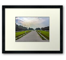 View from Schloss Nymphenburg (Nymphenburg Palace) Framed Print