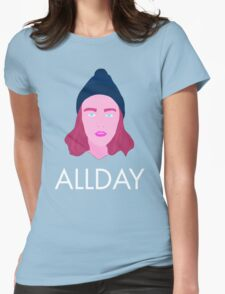Allday Womens Fitted T-Shirt