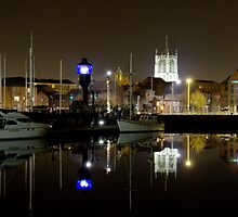 The Marina - Kingston upon Hull - iPad Cover by mps2000