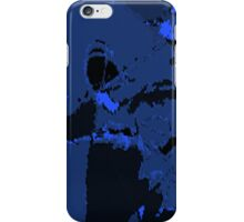 blue honeycomb iPhone Case/Skin