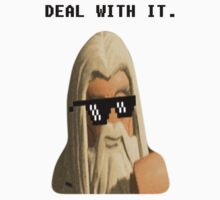 Deal With It - Lego Gandalf the White by TheGutts