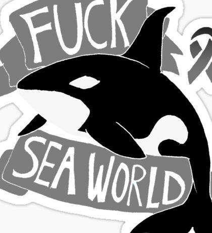 Fuck Sea World Sticker
